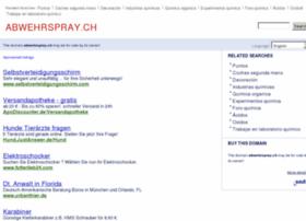 Abwehrspray.ch thumbnail