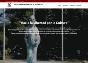 Academica.ues.edu.sv thumbnail