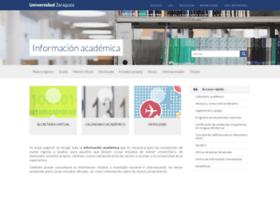 Academico.unizar.es thumbnail