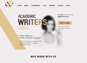 online academic writing jobs