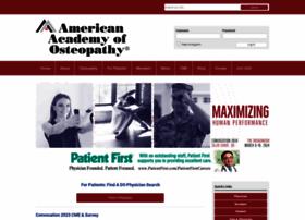 Academyofosteopathy.org thumbnail
