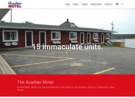 Acadianmotel.ca thumbnail
