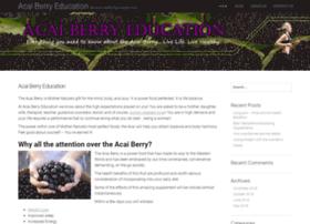 Acaiberryeducation.com thumbnail