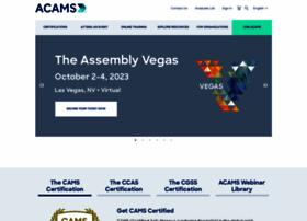 Acams.org thumbnail