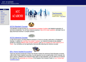 Accacademy.org thumbnail