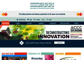 Accc-cancer.org thumbnail