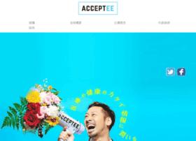Acceptee.co.jp thumbnail