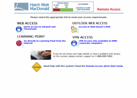 Access.hatchmott.com thumbnail
