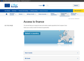 Accesstofinance.eu thumbnail