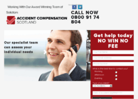 Accidentcompensationscot.co.uk thumbnail