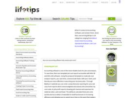 Accountingsoftware.lifetips.com thumbnail