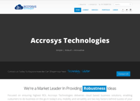 Accrosystechnologies.co.in thumbnail