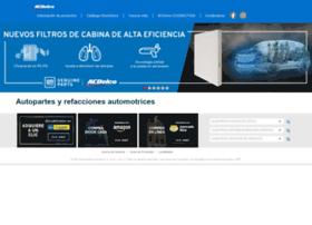 Acdelco.mx thumbnail