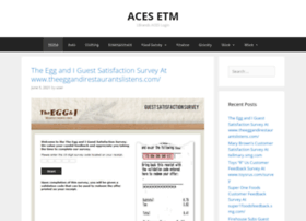 Acesetm Co At Wi Aces Etm Associateresources Limited Brands Login