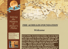 Achillesfoundation.org thumbnail