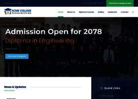 Acmecollege.edu.np thumbnail