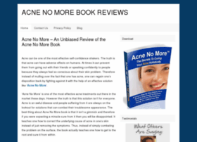 Acnenomore-book.org thumbnail