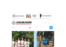Acquirunners.it thumbnail