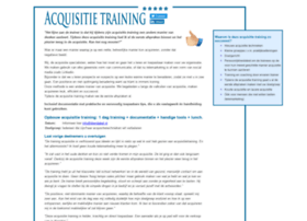 Acquisitietraining.net thumbnail