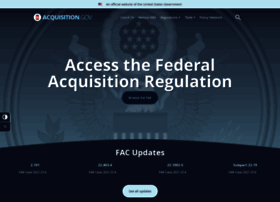 Acquisition.gov thumbnail