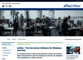 Actfax.com thumbnail