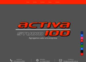 Activa100.com.ar thumbnail