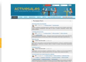 Activesales.info thumbnail