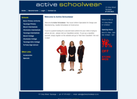 Activeschoolwear.co.nz thumbnail