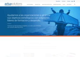 Actuasolutions.com thumbnail