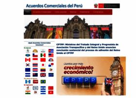 Acuerdoscomerciales.gob.pe thumbnail