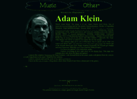 Adamcjklein.us thumbnail