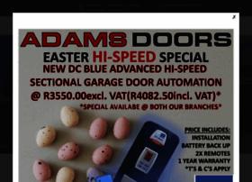 Adamsdoors.co.za thumbnail