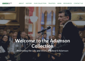 Adamsoncollectiontrust.org thumbnail