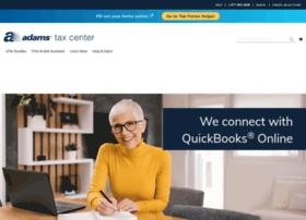 adamstaxforms.com at WI. Adams Tax Forms | Tax Forms Helper® | One ...