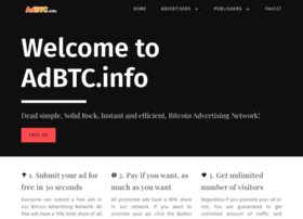 Adbtc.info thumbnail