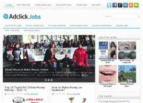 Adclickjobs.com thumbnail