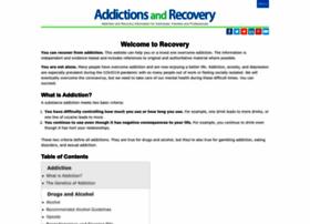 Addictionsandrecovery.org thumbnail