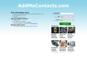 Dating Skype Directory