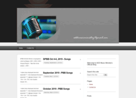 Addmusicministry.org thumbnail