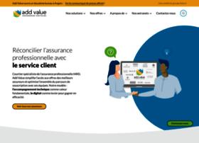 Addvalue-assurance.fr thumbnail