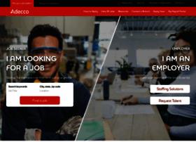 adeccousa com at WI  Permanent Staffing & Temp Agencies for Job