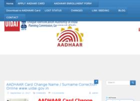 Adhaarcarduid.co.in thumbnail