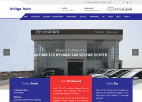 Aditya-auto.com thumbnail