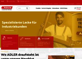 Info At Adler Lackecom At Website Informer