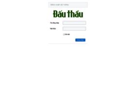 Admin.thongtindauthau.com.vn thumbnail