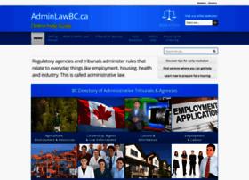 Adminlawbc.ca thumbnail