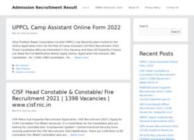 Admissiondbrau.org.in thumbnail