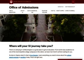 Admissions.indiana.edu thumbnail