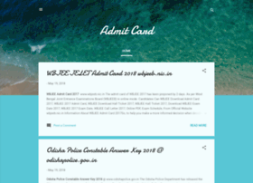 Admit-card.co.in thumbnail
