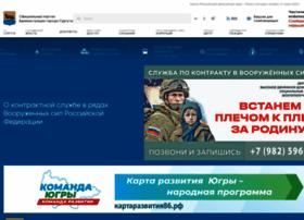 Admsurgut.ru thumbnail